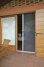 Insektenschutz für Tür auf horizontal