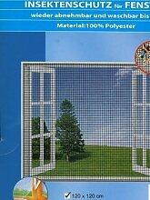 Insektenschutz-Gitte... für Fenster, 120x120 cm,