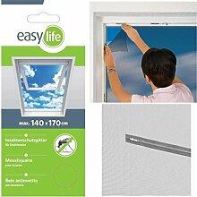 Insektenschutz Gitter Dachfenster inkl. Klettband 140 x 170 cm weiß