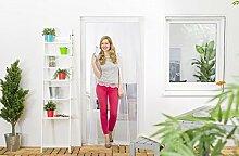 Insektenschutz Lamellenvorhang für Türen Türvorhang Fiberglas 100 x 220 cm