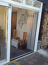 Insektenschutz Plisseetür Sanimex, weiß (1200 x