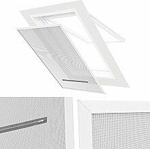 Insektenschutz / Sonnenschutz Dachfenster PVC Klemmrahmen 140 x 170 cm Sichtschutz und Hitzeschutz
