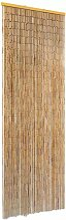 Insektenschutz Türvorhang Bambus 56 x 185 cm