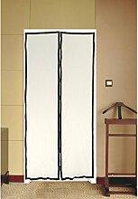 Insektenschutz Türvorhang Fliegennetz Türen Fliegengitter mit Magnetvorhang mit starken Magneten Mückennetz Moskitonetz Insektennetz 100 x 210 cm