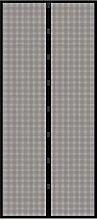 Insektenschutz Türvorhang Magnet, 95 x 215 cm, schwarz