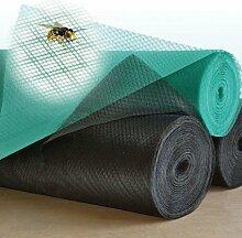 Insektenschutzgitter, Fliegengitter, Mückenschutz, 1.2 x 10m grün