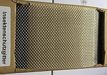 Insektenschutzgitter Vogelschutzgitter ALU 80mm 10m