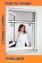 Insektenschutzrollo Fliegengitter Fenster 100 x 160 cm, Farbe:weiß PORTOFREI!