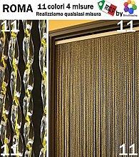 Insektenschutzvorhang aus PVC, Roma, 11  Farben, 4  Größen, in Italien hergestellt von BricoShopping - personalisierbar, PUFF.LISOXLBEIG