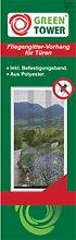 Insektenschutzvorhang XXL für Balkon- und Terrassentüren 120 x 250 cm, Wohnung, Garten