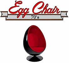 INSIDE 75 Drehstuhl Ei, Egg Chair Schutzhülle