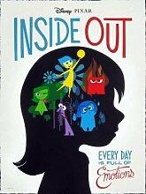 Inside Out – Film Poster Plakat Drucken Bild -