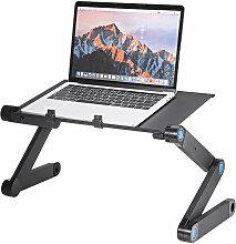 Insma - Klappbarer Laptop-Tisch Computer
