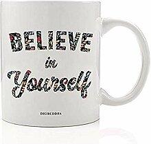 Inspirierende Kaffeetasse Geschenkidee Ziemlich an