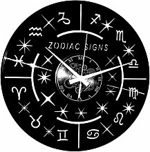 Instant Karma Clocks Wanduhr aus Vinyl Instant