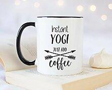 Instant Yogi Just Add Kaffeetasse, Geschenkidee