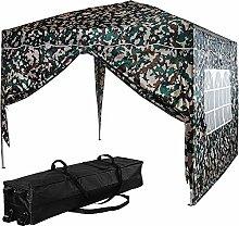 INSTENT® Basic 3x3m Pavillon, WASSERDICHT (SGS