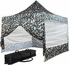 INSTENT® Pro 3x3m Alu-Pavillon, WASSERDICHT (SGS