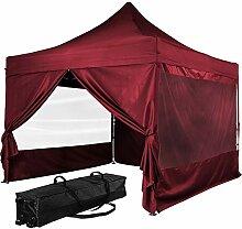INSTENT® Pro 3x3m Faltpavillon, Alu Pavillon,