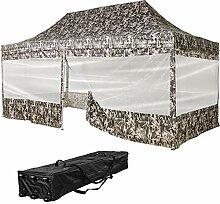 INSTENT® Pro 3x6m Faltpavillon Partyzelt +