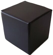 Insula Sana Sitzwürfel 40x40x40 cm Kunstleder schwarz