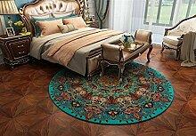 Insun Moderner Teppich Runder Orientteppich für