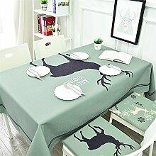 Insun Tischdecke Tischdeko Tischtücher Abwaschbar