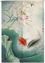 Insun Tür Vorhänge Japanische Noren Tapisserie