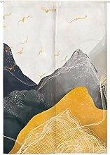 Insun Tür Vorhang Japanische Noren Wandteppiche