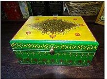 int. d'ailleurs - Mehrfarbige rechteckige Box