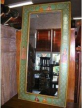 int. d'ailleurs - Spiegel Moghol grün 120x60 cm - Mir011