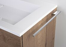 Intarbad Design Handtuchhalter Chrom 400 mm