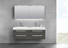 Intarbad Doppelwaschtisch 160 cm Badmöbel mit