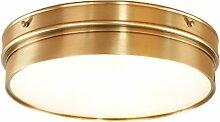 INTASDD Deckenleuchte Kupfer Lampe Land Wohnzimmer