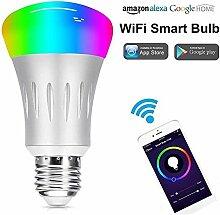 Intelligente Wifi-Lampe, RGB + W E27 85-265V