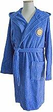 Inter Bademantel für Kinder, Blau, 4-6 Jahre