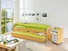 Inter Link Bett Bett mit Schubladen Stauraumbett