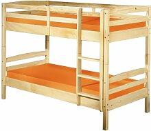 Inter Link Bett Etagenbett Bed Stockbett Kinderbett Kids Bett Kiefer massivholz Bio Natur lackier