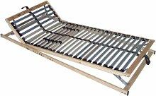 Interbett 554271 Rahmen Lattenrost Vita Med 28 mit 5 Zonen 28 Leisten Kopf- und Fußteil verstellbar 90 x 200 cm