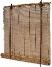 Interdeco Bambusrollo mit Seitenzug in Braun, Mariko, 140 x 160 cm