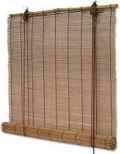 Interdeco Bambusrollo mit Seitenzug in Braun, Mariko, 90 x 220 cm