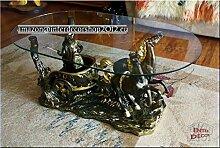 InterDecorShop Designer Couchtisch Ben Hur Antik