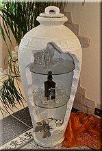 InterDecorShop Griechische Regal Vitrine Bar Vase