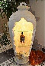 InterDecorShop Griechische Vitrine Bar Vase