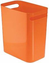 InterDesign Mülleimer, plastik, Orange, 12-Inch