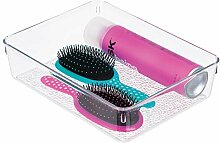 InterDesign Rain Aufbewahrungsbox für Make-up und