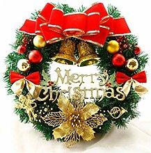 Interessant Blumen Weihnachtskranz Tür Hängende