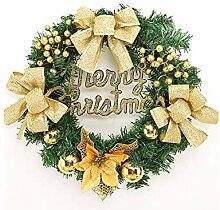 Interessant Bow-Knoten Weihnachten Kranz Tür