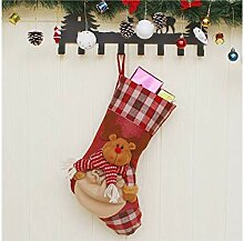 Interessant Elch Weihnachten Socken Candy Bag