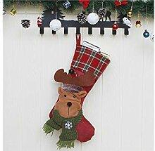 Interessant Elch Weihnachten Socken Candy Socken